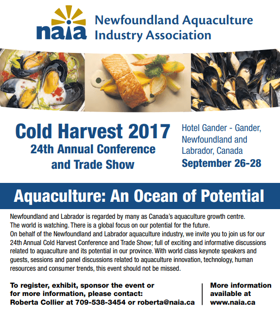 Cold Harvest 2017 - 24th Annual Conference and Trade Show @ Gander Hotel